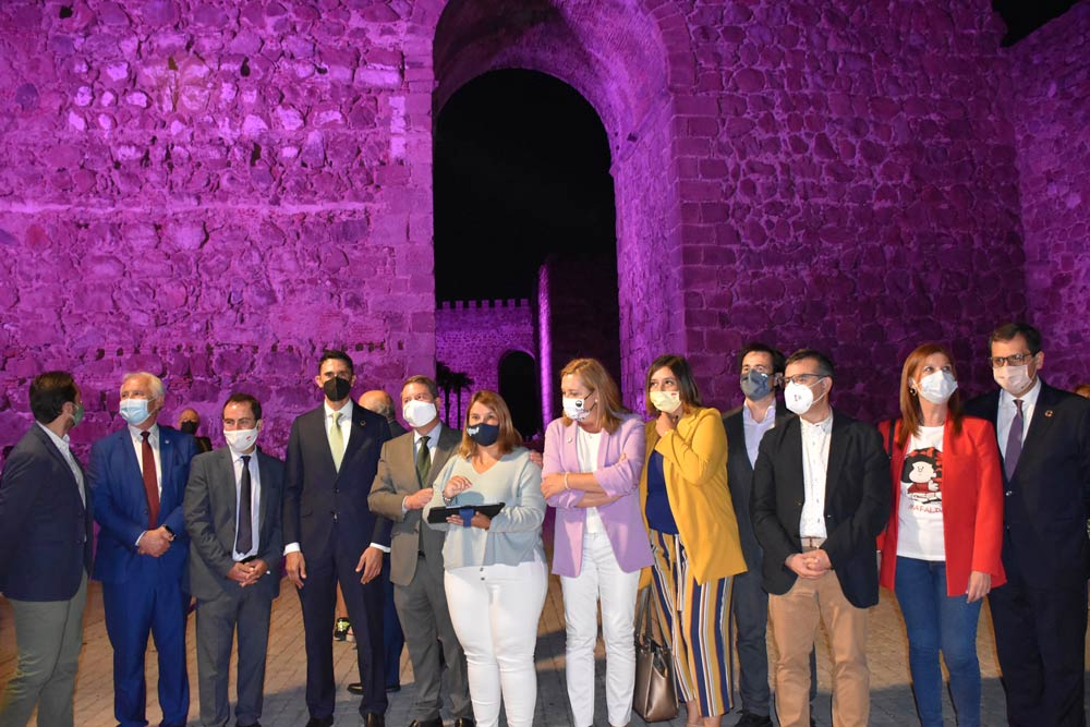 inauguracion iluminacion muralla talavera